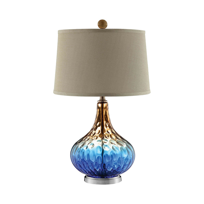 99631 Shelley Table Lamp Cobalt Blue