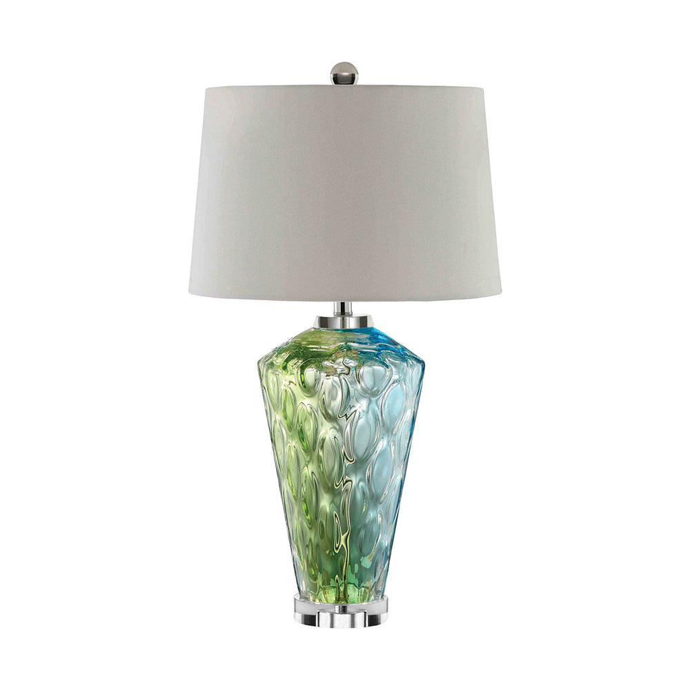 99675 Sheffield Table Lamp Blue, Green