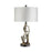 99813 Eda Table Lamp Gold, Polished Chrome, Silver