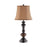 99824 Gilmore Table Lamp Bronze, Brown
