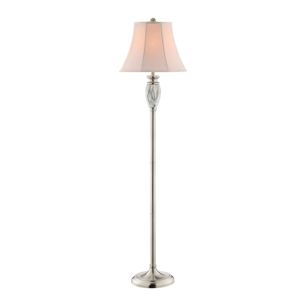 99895 Gina Floor Lamp Faux Grey