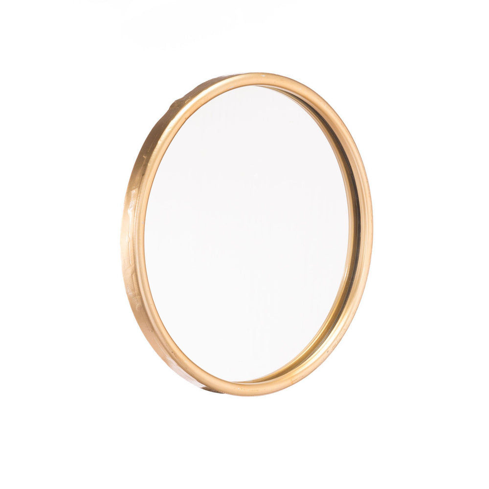 Ogee Mirror Small Gold