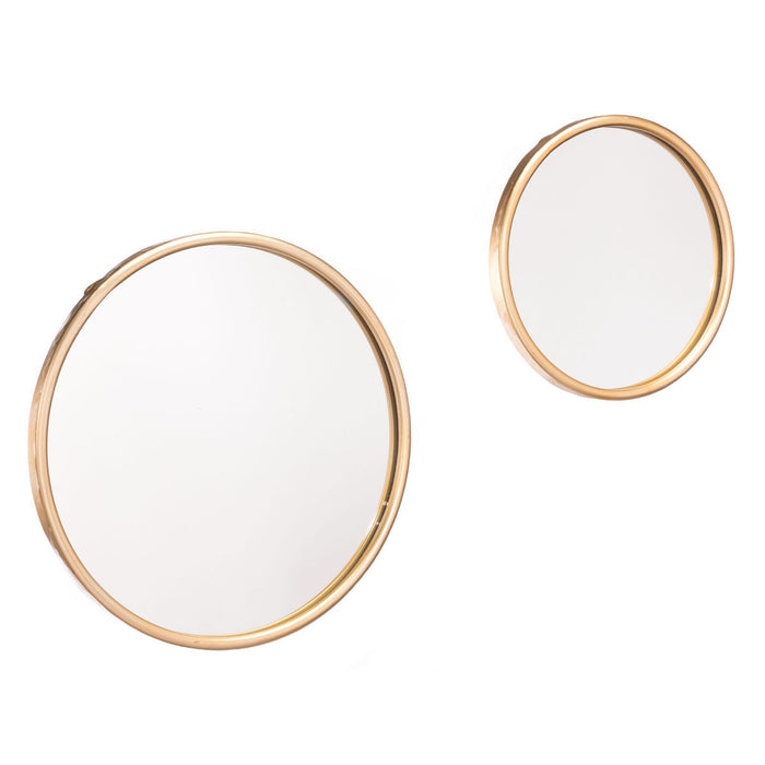 Ogee Mirror Large Gold