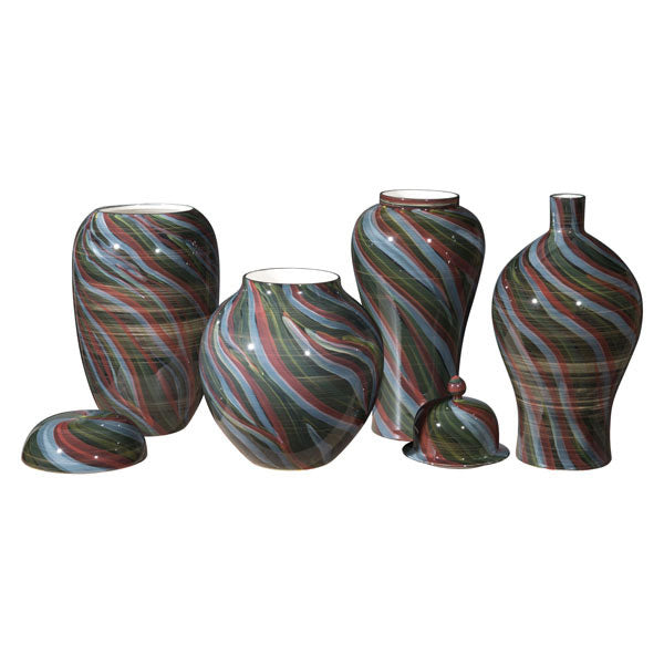 Galax Large Vase Multicolor