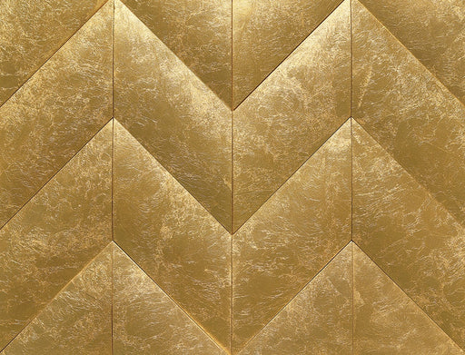 "Apex 11"" x 10.5"" Wall Tile in Gold Getter, Sold by the Carton"