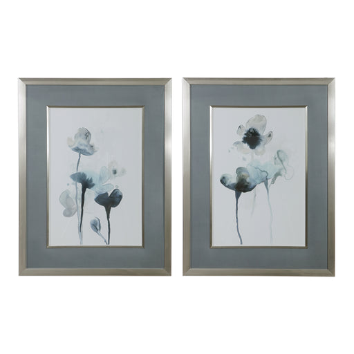 Midnight Blossoms Framed Prints Set/2