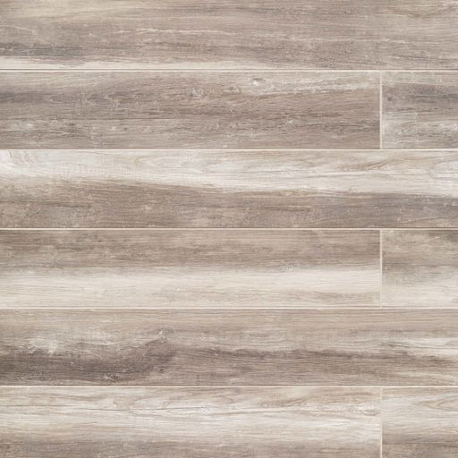 "Shine 8"" x 48"" Floor and Wall Tile in Ivory, Sold by the Carton"