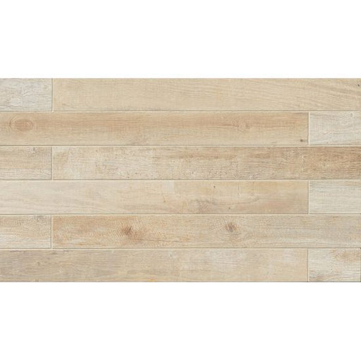"Tahoe 4"" x 40"" Floor and Wall Tile in Frost, Sold by the Carton"