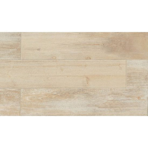 "Tahoe 8"" x 40"" Floor and Wall Tile in Frost, Sold by the Carton"
