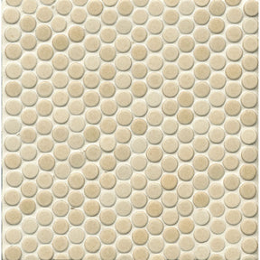 "360 3/4"" X 3/4"" Floor & Wall Mosaic in Beige, Sold by the Piece"