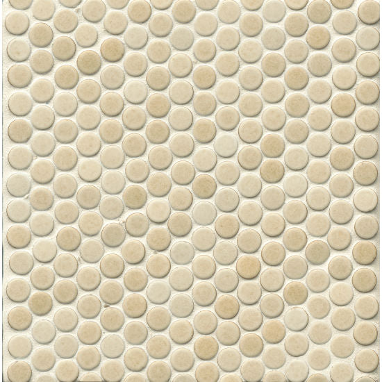 "360 3/4"" x 3/4"" Floor and Wall Mosaic in Beige, Sold by the Piece"