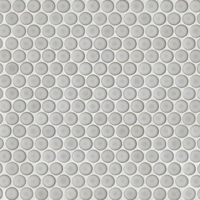"360 3/4"" X 3/4"" Floor & Wall Mosaic in Dove Gray, Sold by the Piece"