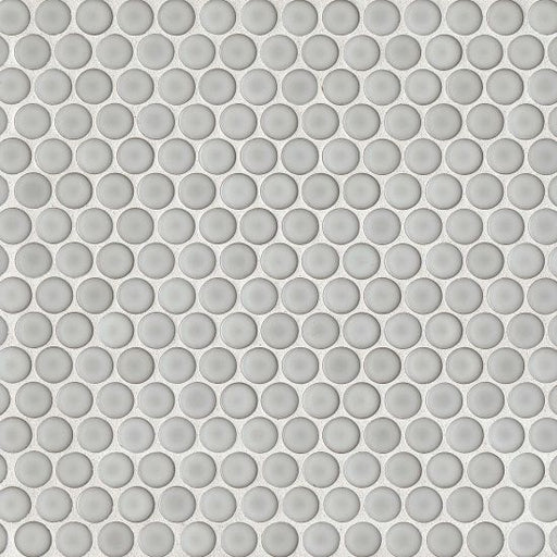 "360 3/4"" x 3/4"" Floor and Wall Mosaic in Dove Grey, Sold by the Piece"