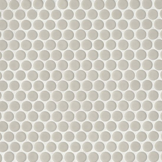 "360 3/4"" X 3/4"" Floor & Wall Mosaic in off White, Sold by the Piece"