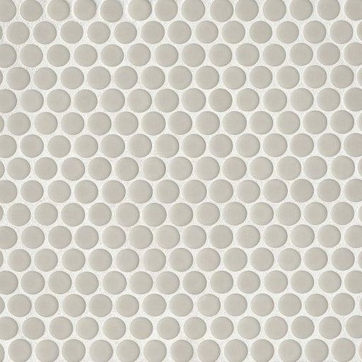 "360 3/4"" x 3/4"" Floor and Wall Mosaic in Off White, Sold by the Piece"