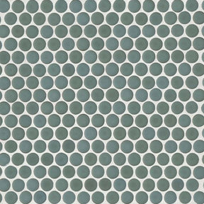 "360 3/4"" X 3/4"" Floor & Wall Mosaic in Silver Sage, Sold by the Piece"