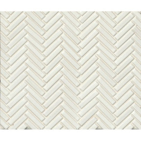 "90 1/2"" X 2"" Floor & Wall Mosaic in White, Sold by the Piece"