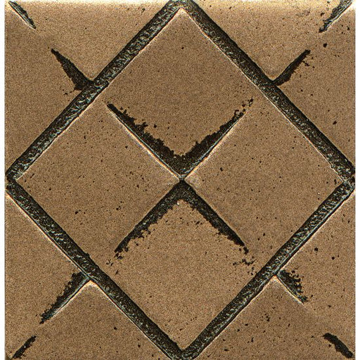"Ambiance Matrix City 2"" x 2"" Trim in Bronze, Sold by the Piece"