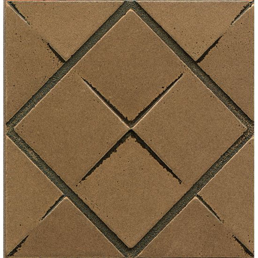 "Ambiance Matrix City 4"" x 4"" Trim in Bronze, Sold by the Piece"