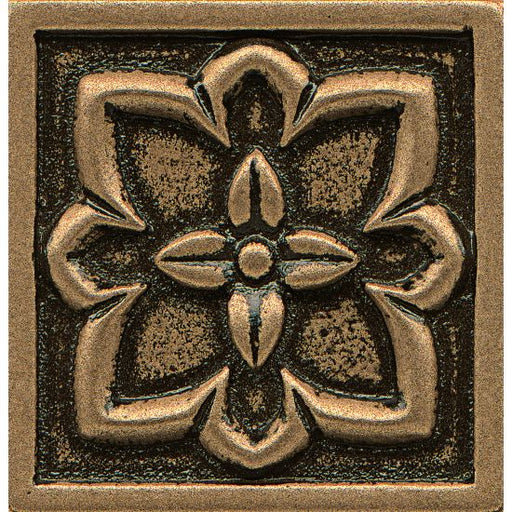 "Ambiance Romanesque 2"" x 2"" Trim in Bronze, Sold by the Piece"