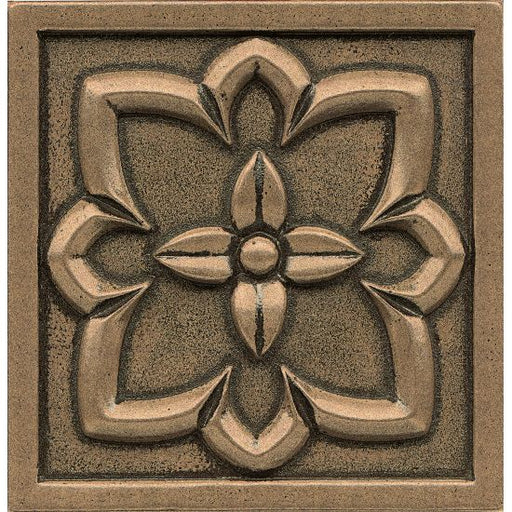 "Ambiance Romanesque 4"" x 4"" Trim in Bronze, Sold by the Piece"