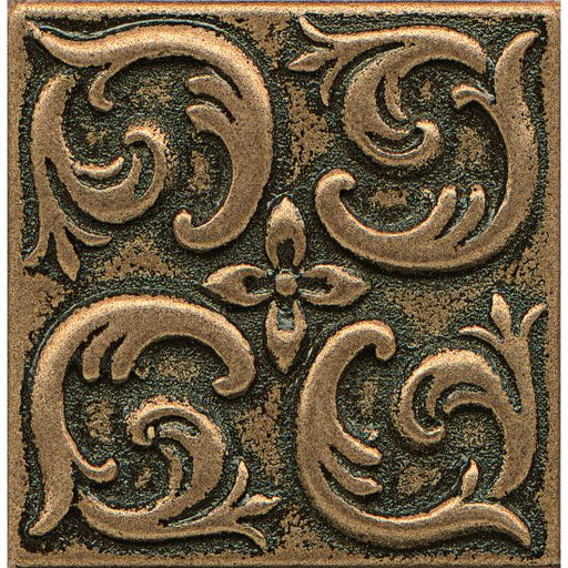 "Ambiance Wave 2"" x 2"" Trim in Bronze, Sold by the Piece"