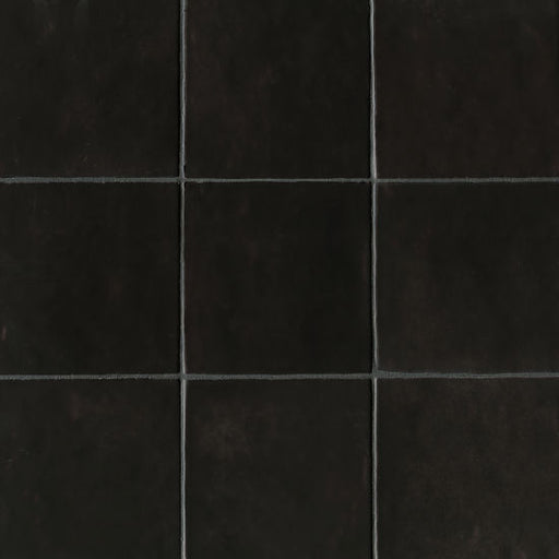 "Cloe 5"" x 5"" Wall Tile in Black, Sold by the Carton"