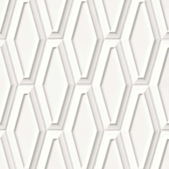Bedrosians Long Hex Pacifico Deco White Sand, $16.98 per SF (Sold by the piece) DECCOSWHSLHEXPAC White