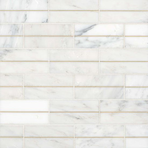"Ferrara 3"" x 6"" Decorative Tile in Bianco, Sold by the SF"