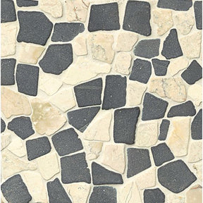 Hemisphere Floor & Wall Mosaic in Island Blend, Sold by the Piece