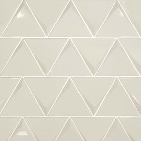 "Triangolo 4.5"" X 5"" Wall Tile in Fog, Sold by the Carton"