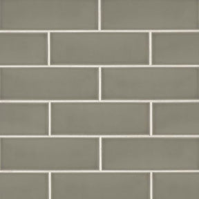 "Grace 4"" X 12"" Wall Tile in Ecru, Sold by the Carton"