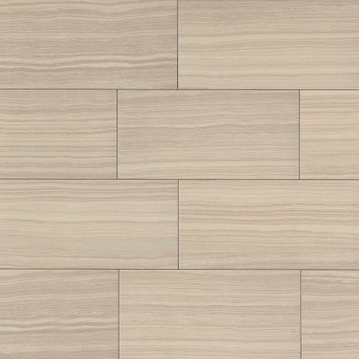 "Matrix 12"" x 24"" Floor and Wall Tile in Classic Tan, Sold by the Carton"