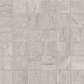 "Toscano 2"" X 2"" Floor & Wall Mosaic in Grigio, Sold by the Piece"