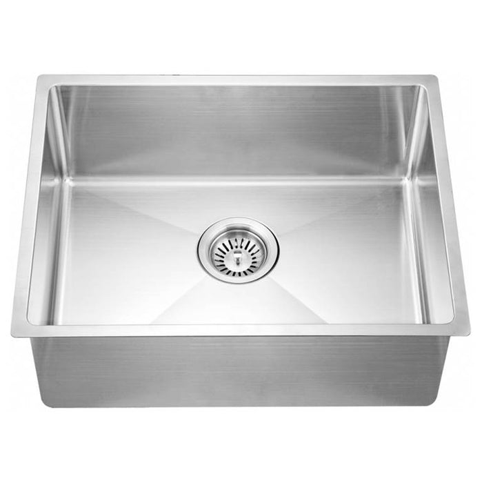 Undermount Small Corner Radius Single Bowl Sink