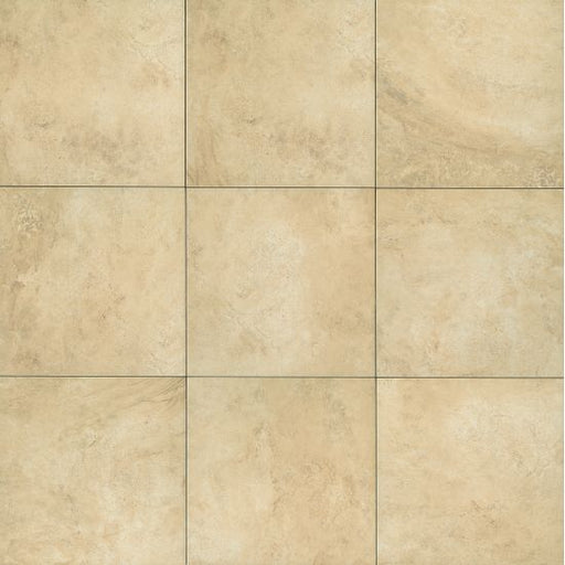 "Stonefire 12"" x 12"" Floor and Wall Tile in Almond, Sold by the Carton"