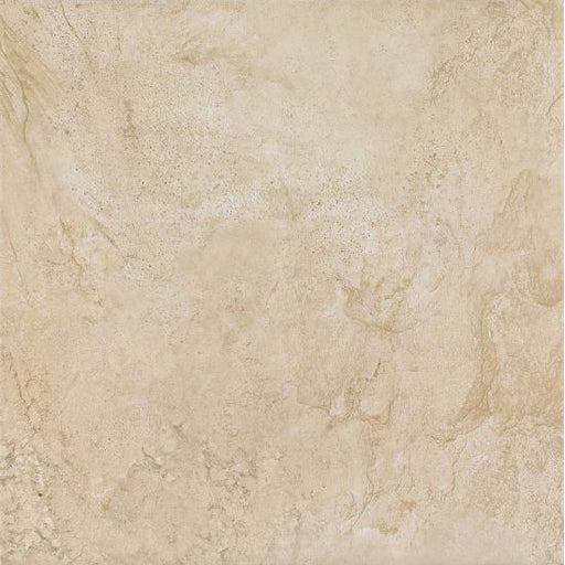 "Stonefire 18"" x 18"" Floor and Wall Tile in Almond, Sold by the Carton"