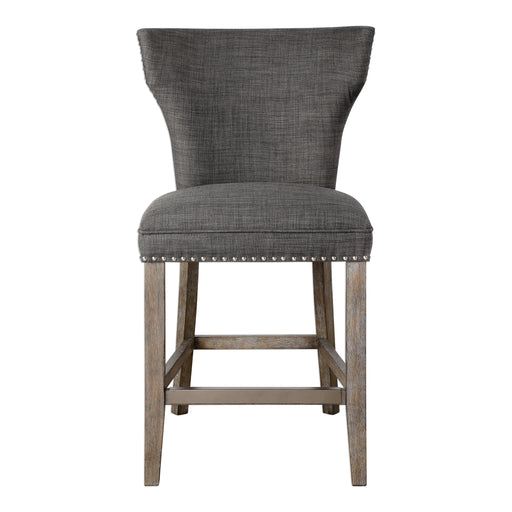Arnaud Charcoal Counter Stool
