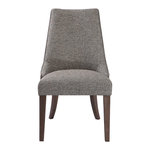 Daxton Earth Tone Armless Chair
