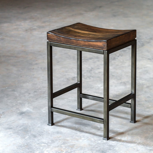 Beck Wood Counter Stool
