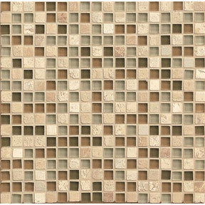 "Eclipse 5/8"" X 5/8"" Wall Mosaic in Allure, Sold by the Piece"