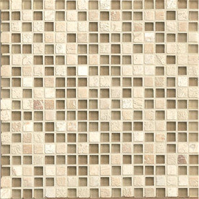 "Eclipse 5/8"" X 5/8"" Wall Mosaic in Dunes, Sold by the Piece"