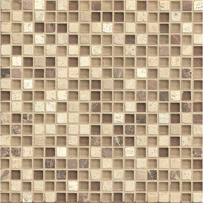 "Eclipse 5/8"" X 5/8"" Wall Mosaic in Espresso, Sold by the Piece"