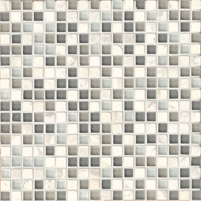 "Eclipse 5/8"" X 5/8"" Wall Mosaic in Eternity, Sold by the Piece"