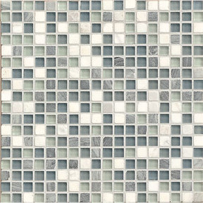 "Eclipse 5/8"" X 5/8"" Wall Mosaic in Marina, Sold by the Piece"
