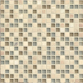 "Eclipse 5/8"" X 5/8"" Wall Mosaic in Tranquility, Sold by the Piece"