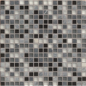 "Eclipse 5/8"" X 5/8"" Wall Mosaic in Vintage, Sold by the Piece"