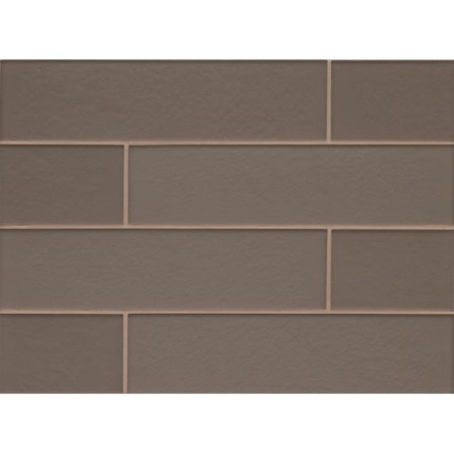"Manhattan Matte 4"" x 16"" Wall Tile in Ash, Sold by the Carton"