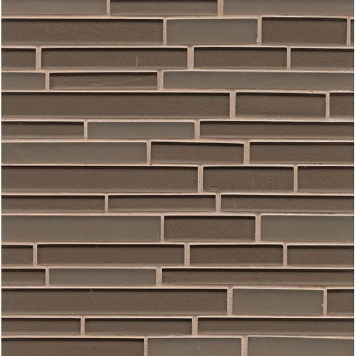 Manhattan Wall Mosaic in Ash, Sold by the Piece