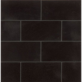 "Absolute Black 3"" X 6"" Wall Tile, Sold by the Carton"